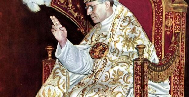 Couronnement du pape Pie XII