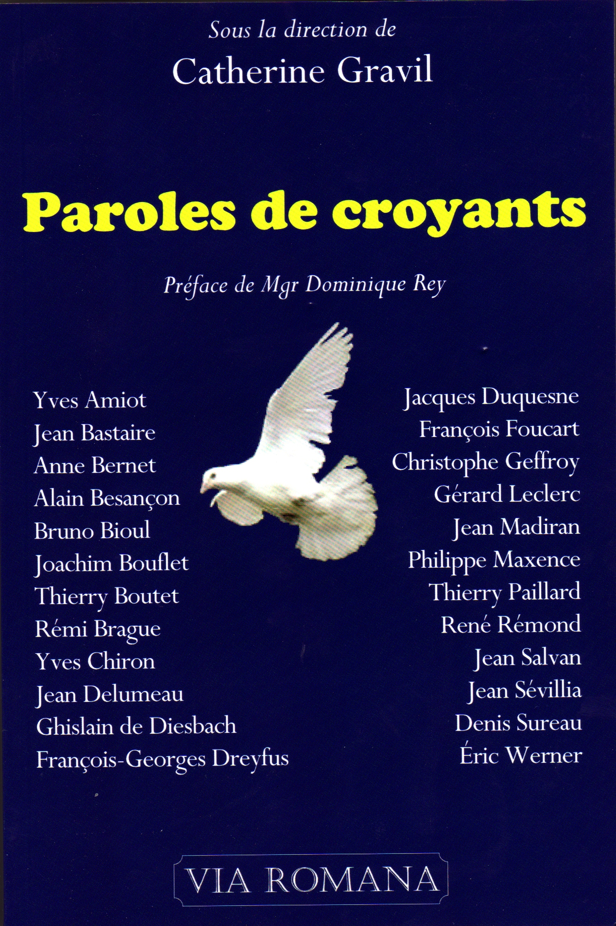 Paroles de croyants